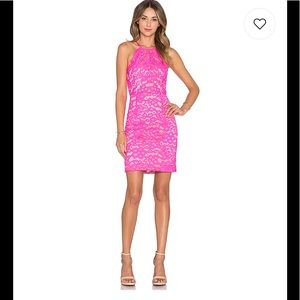 New with tags Trina Turk lace pink dress